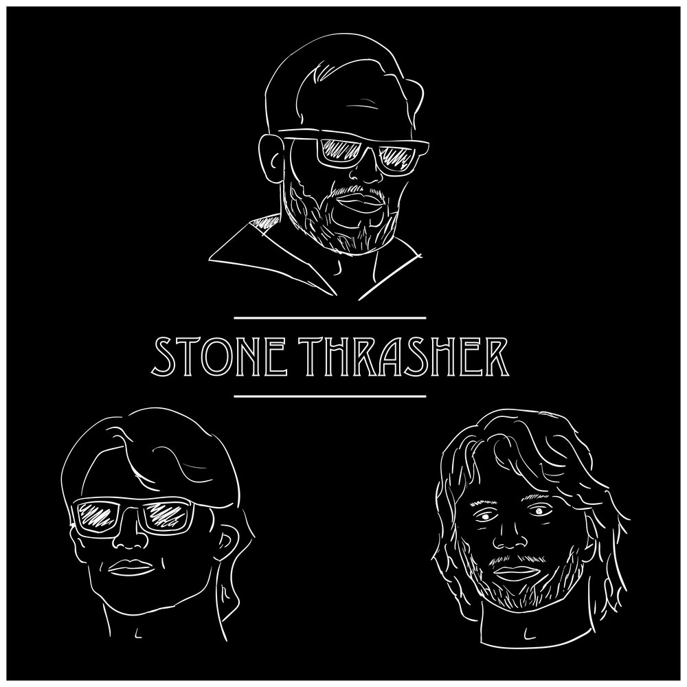 """""""Stone Thrasher"""" - Single (2017) 1. """"Stone Thrasher"""" (3:44)"""