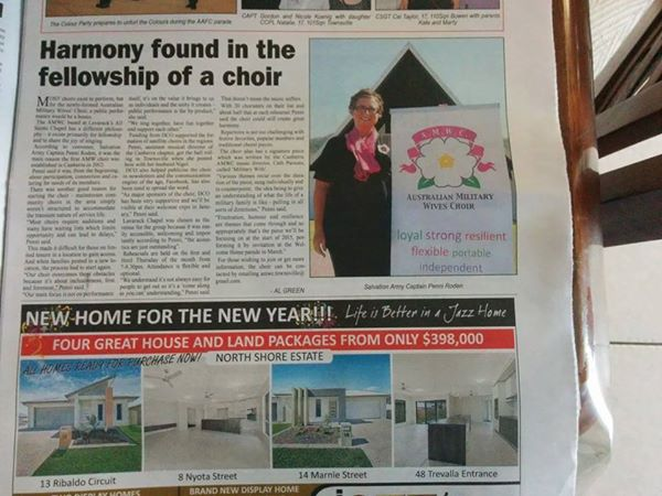 AMWC Townsville Coordinator Penni in the news