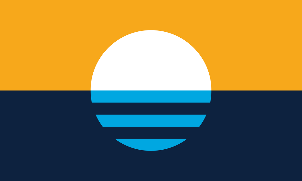 Milwaukee Flag: The People's Flag of Milwaukee - Sunrise Over the Lake