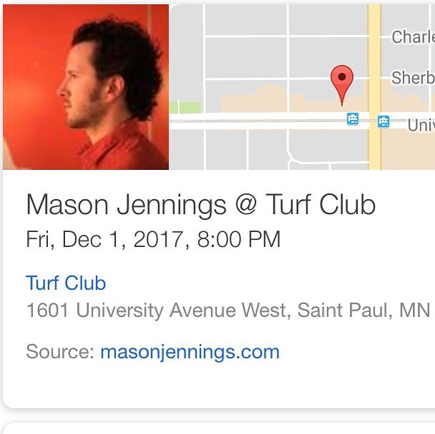 I have 4 GA tickets to @masonjennings at the @turfclubmn this Fri that I unfortunately can't use. I'll make a deal w someone who wants to buy them!