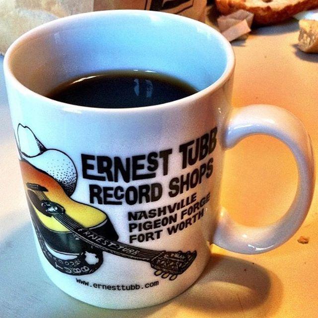 Buy a record & a coffee mug.