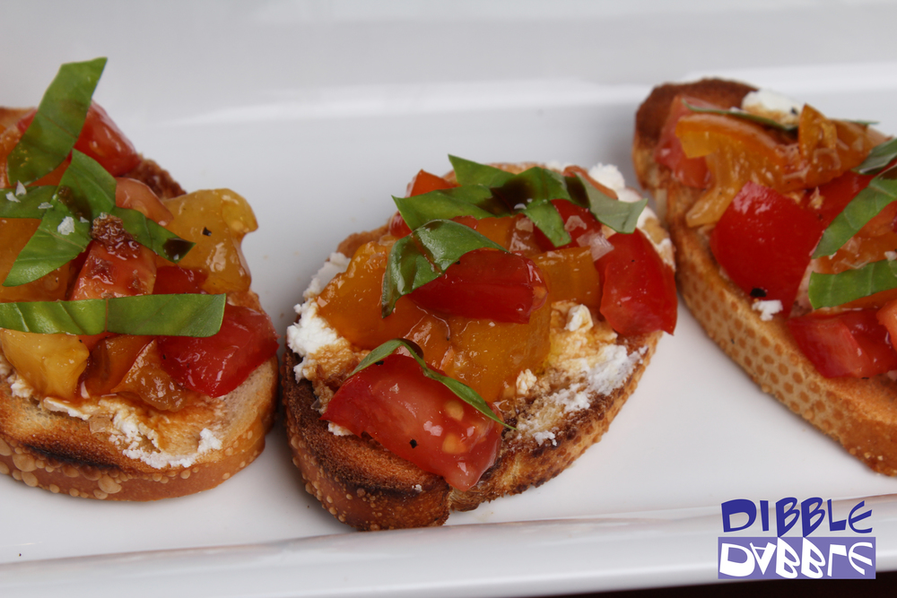 Heirloombruschetta