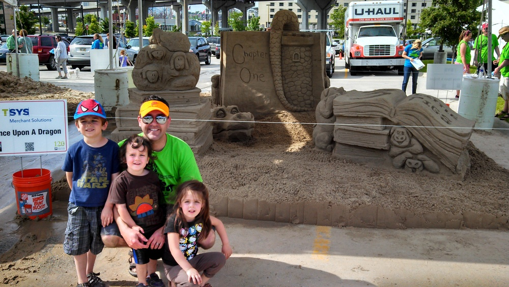 2013 Sand in the City - 2nd Place