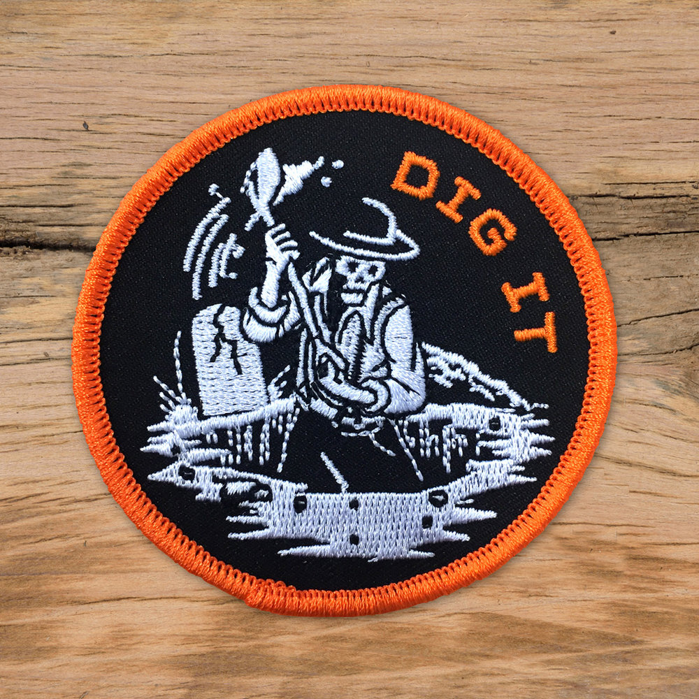 Dig It Patch Lincoln Design Company Portland Oregon
