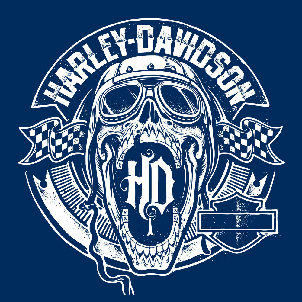 HARLEY - DAVIDSON   ART DIRECTION / APPAREL DESIGN / TECH PACKS / PATTERNS