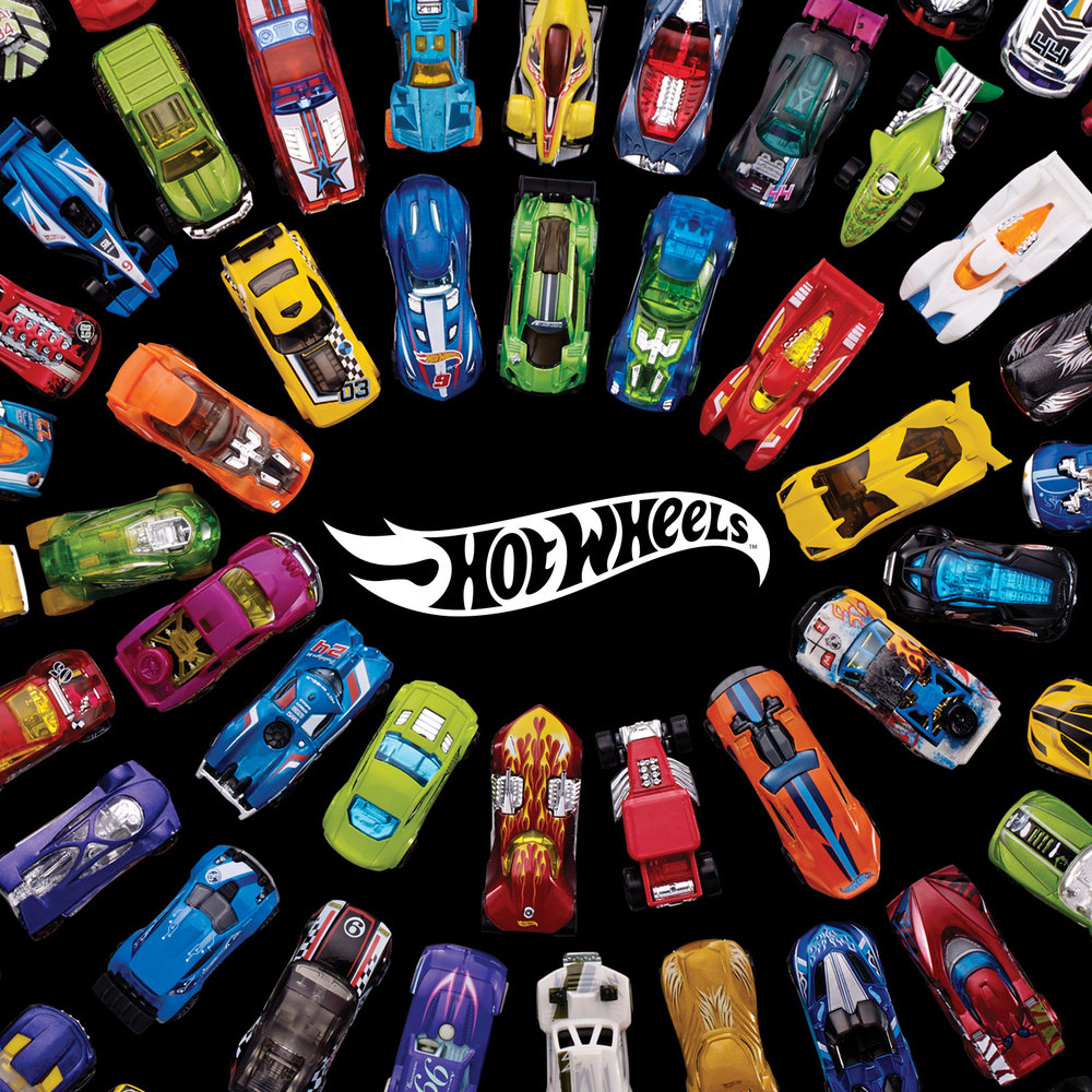 HOT - WHEELS   BRAND IDENTITY / APPAREL DESIGN / ILLUSTRATIONS / ICONS / LAYOUT / ART DIRECTION / PRODUCTION