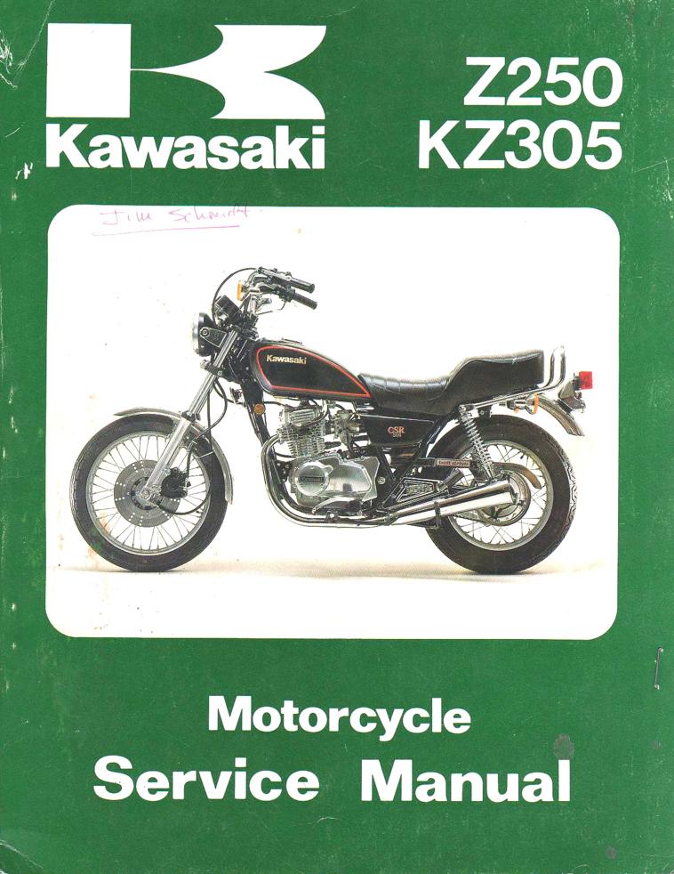 Kawasaki KZ250 / KZ305 CSR
