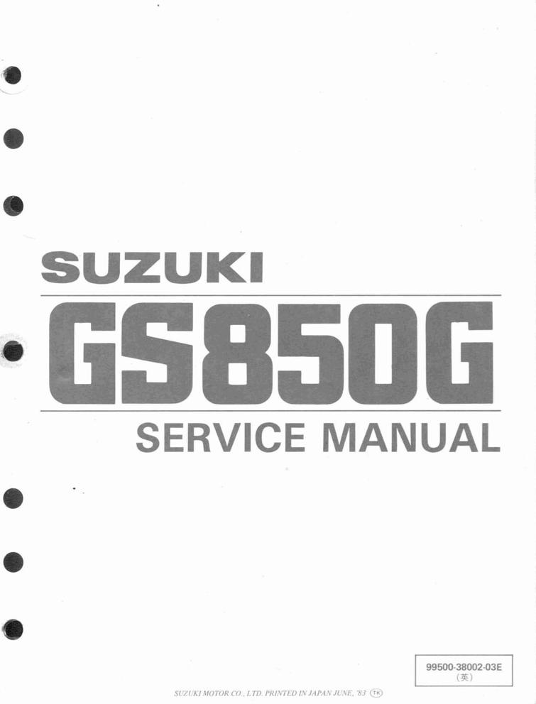 Suzuki GS850 G