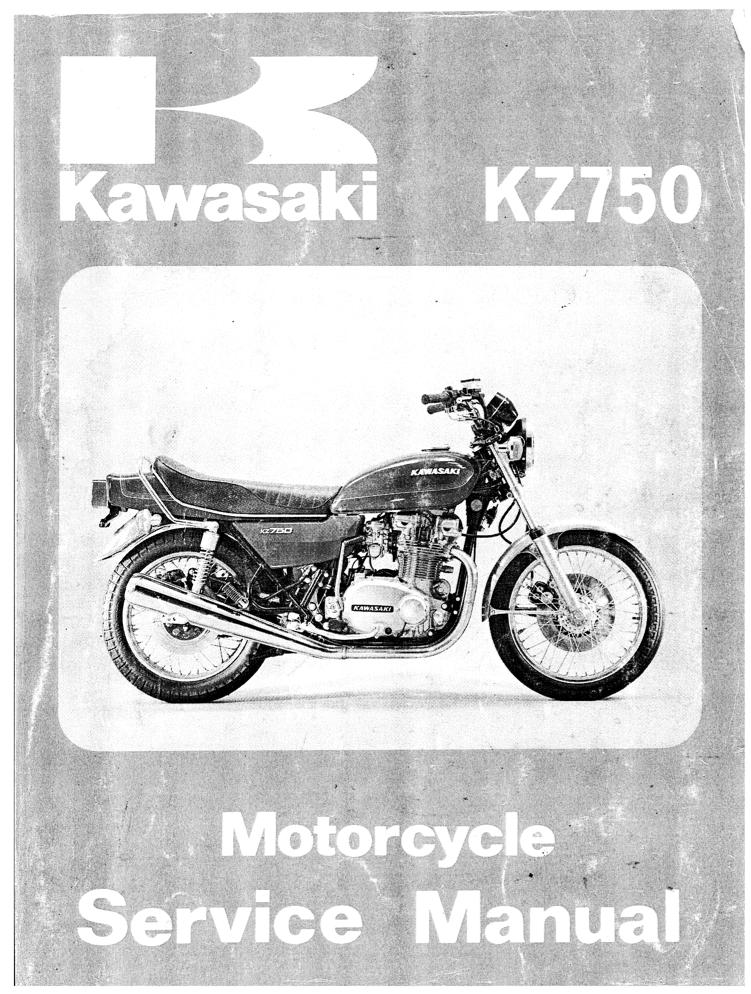 Kawasaki KZ750 B 76-78