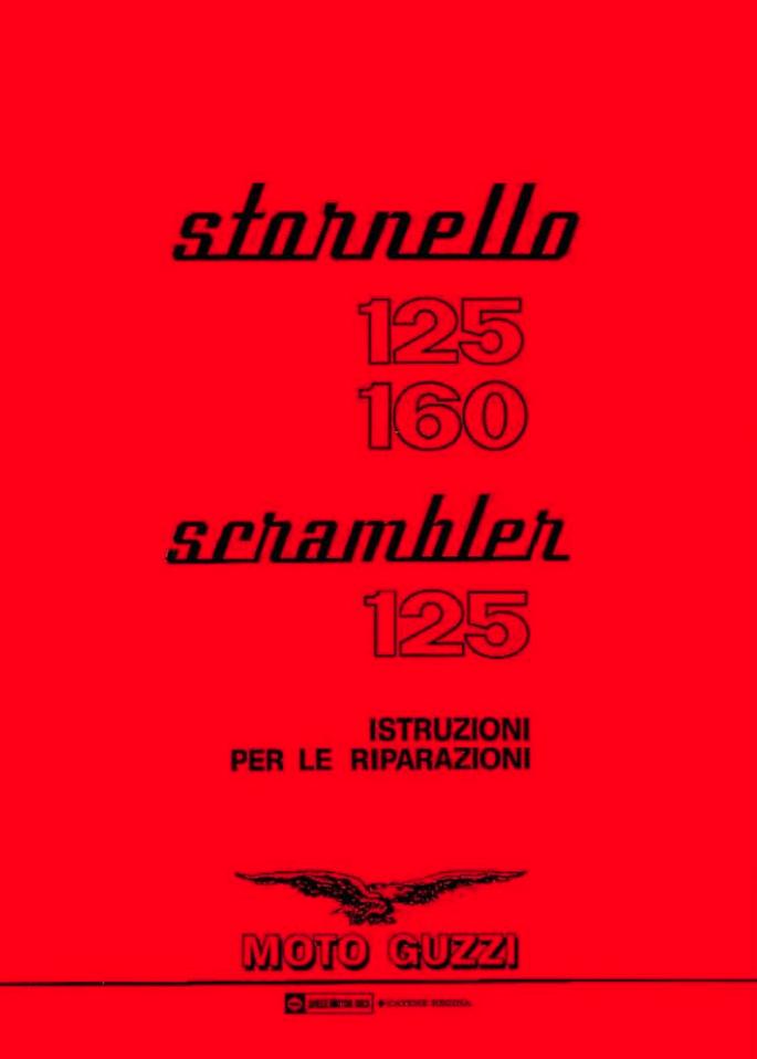 Moto Guzzi Stornello 125 / 160 / Scrambler