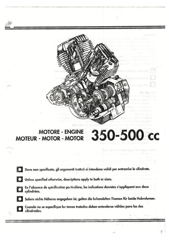Moto Morini 3 1/2 (350) & 500