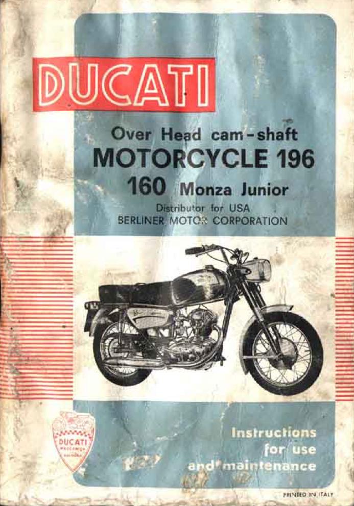 Ducati Monza Jr. 160