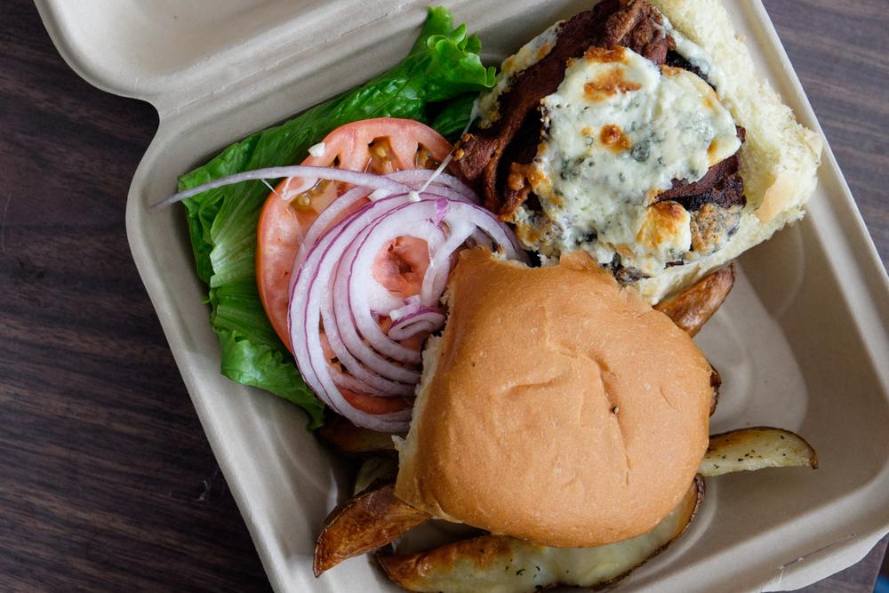 aloha mondays burger