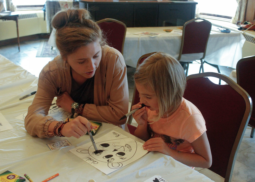 Gabrielle Conway  UW-Stout Art Education INTERNSHIP: PAINT International, Mabel Tainter Center for the Arts