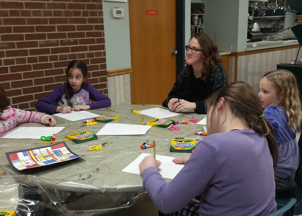 Megan Becker  UW-Stout Art Education INTERNSHIPS: 1) Jumpstart Afterschool Program, Menomonie Parks and Recreation, 2) Thursday Thrillseekers, Menomonie Parks and Recreation