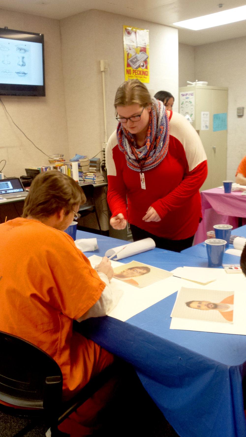 Sierra Thomfohrda  UW-Stout Art Education INTERNSHIPS: 1) Painting classes, Dunn County Jail 2) Arts and Crafts, Boys and Girls Club