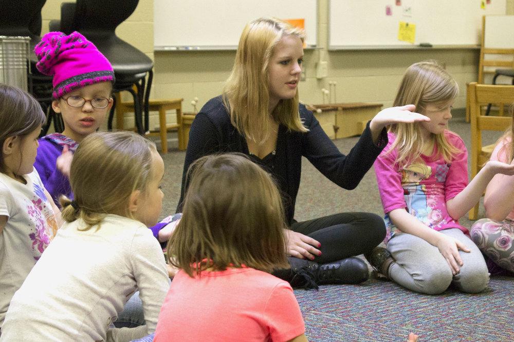Abigail Ceaglske  UW-Stout Early Childhood Education   INTERNSHIP: Rocky's After School Program, River Heights Elementary