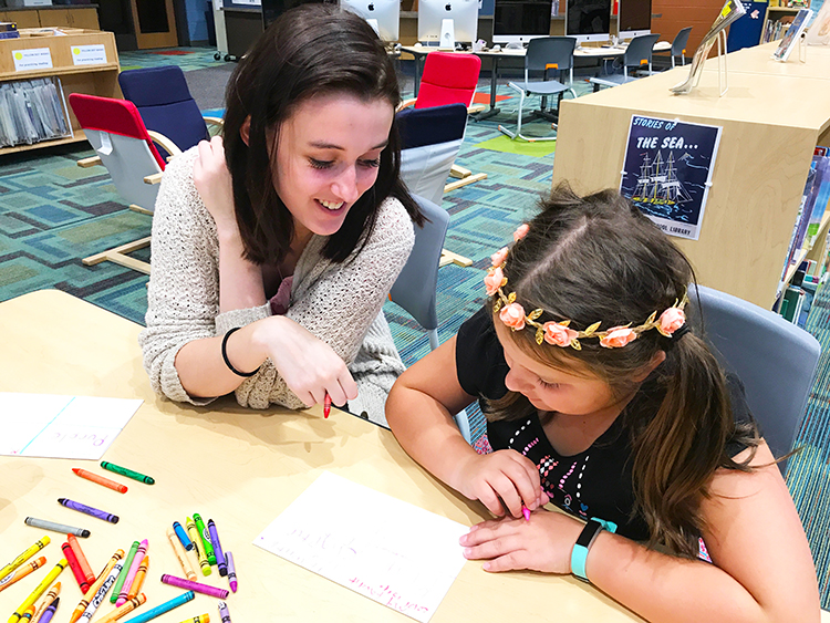 Hannah Denninger  UW-Stout Early Childhood Education INTERNSHIP: Making Stories Come Alive, Boys and Girls Club