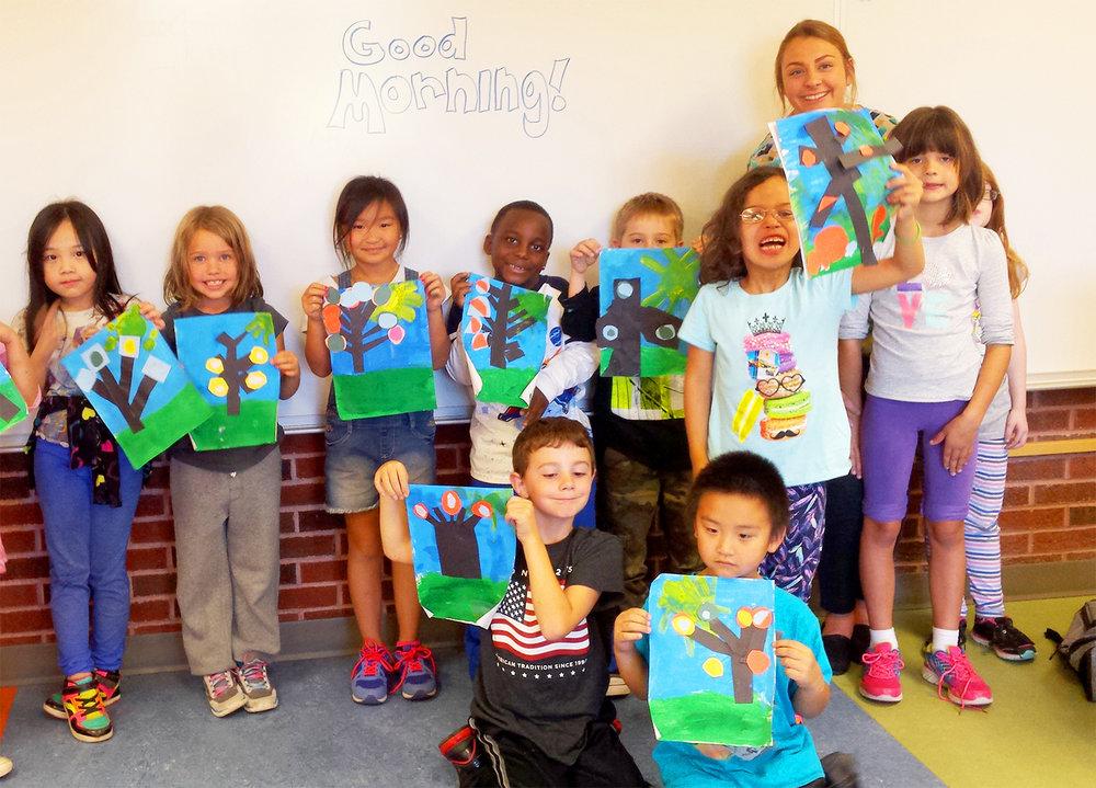 Brooke Wadzinski  UW-Stout Art Education INTERNSHIP: Arts and Crafts, Rocky's K-2 After School Program,  River Heights Elementary