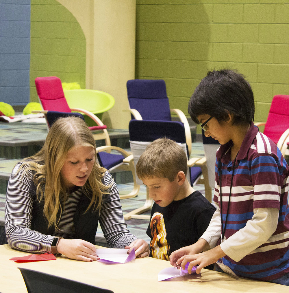 Sami Cromer  UW-Stout Early Childhood Education INTERNSHIP: Making Stories Come Alive, Boys and Girls Club, River Heights Elementary