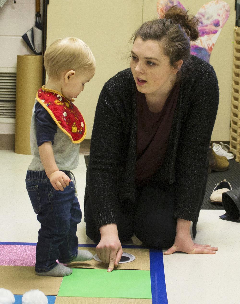 Alyssa Boyer  UW-Stout Early Childhood Education INTERNSHIP: Infant-4k, Child and Family Study Center, UW-Stout