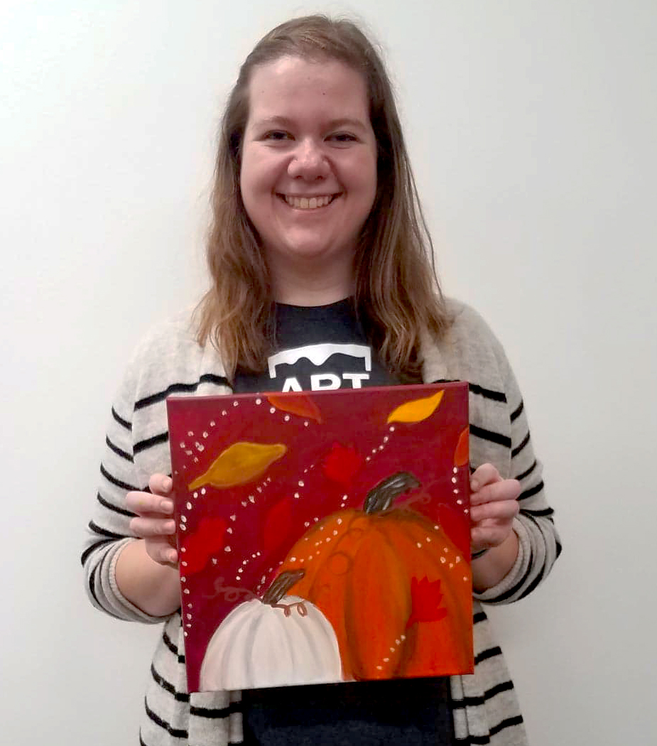 NICOLE SEIDLER , UW-STOUT ART EDUCATION INTERNSHIPS: NAEA Painting Classes, UW-Stout