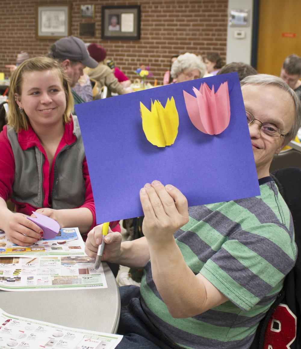 Jewel Fredrickson  UW-Stout Art Education INTERNSHIPS: Arts and Crafts at Jumpstart Afterschool Program and Thrill Seekers LOCATION: Parks and Recreation Dept., Leisure Center