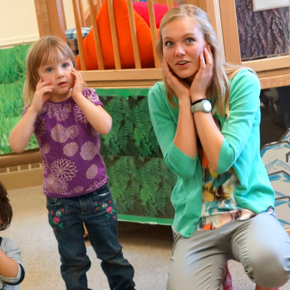 ABBY NAUMAN, Early Childhood Education - I have never been more nervous to see kindergarteners in my life!  My name is Abigail Naumann, and I started a P.A.I.N.T. internship last semester teaching yoga to kindergarten through second grade at Rocky's after school program. When I first started, I was only a freshman in my first semester of college, and I was a little nervous about what I had gotten myself into. But as soon as I walked into the school building, I was greeted with smiling, curious little faces excited to learn something new. I have been teaching two days a week ever since! To me, the P.A.I.N.T. internship was like a mini practice teaching. It gave me so much experience writing lesson plans and handling a class of children right away in my college career, which was very beneficial for my college classes, because I could directly relate to and connect with what I was learning about teaching. It's sometimes scary to jump right in, but building experience is the best way I know to improve your teaching. I would highly recommend a P.A.I.N.T. internship because it a great break from college to teach and play with young children, and it's honestly the best part of my week!