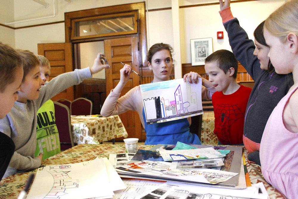 LINDSEY JONES  UW-Stout Art Education INTERNSHIP: PAINT International, Mabel Tainter Center for Arts