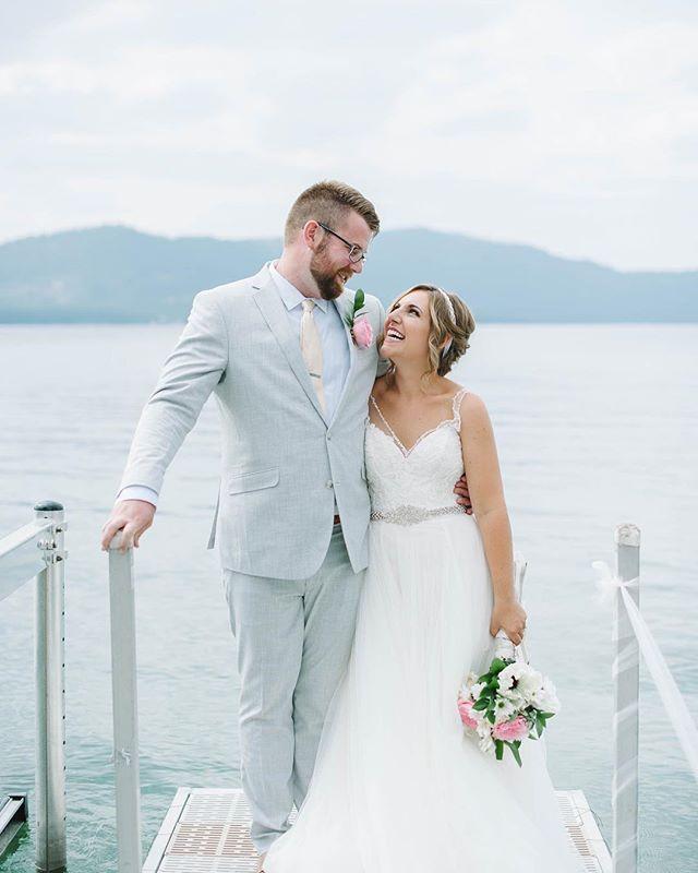 The cutest @kbhagenba and her groom 💕 #tylernicolephotography