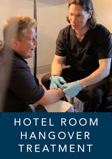 IV Hangover Treatment in your hotel room