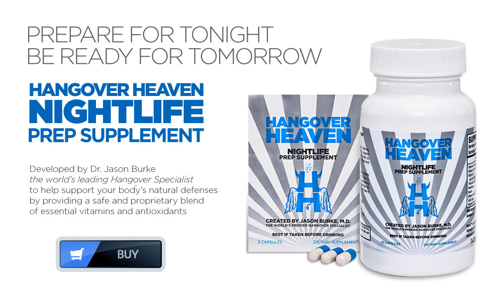 Hangover Heaven Nightlife Support Supplement