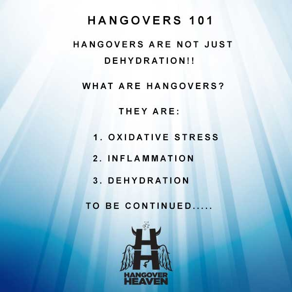What are hangovers?