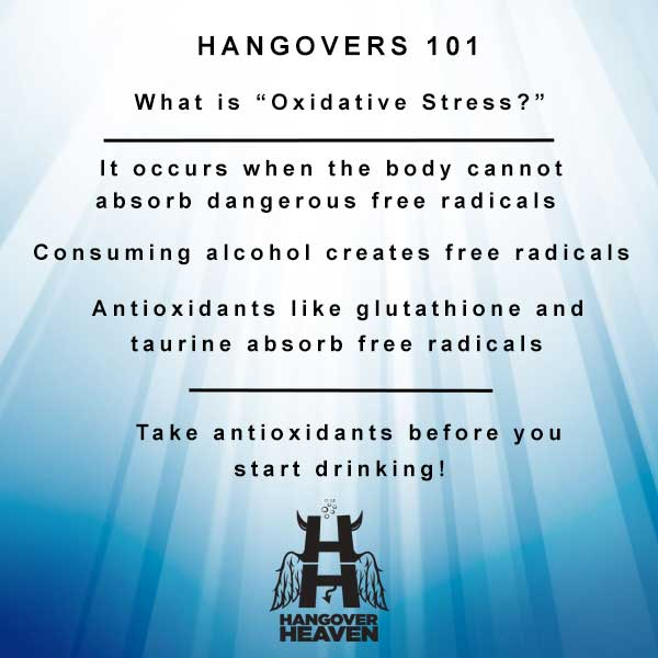 Oxidative Stress and hangovers
