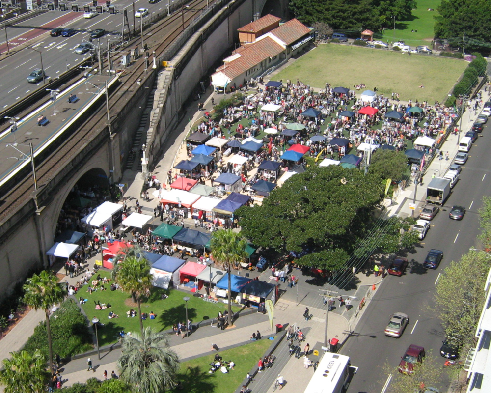 Kirribilli Markets today.