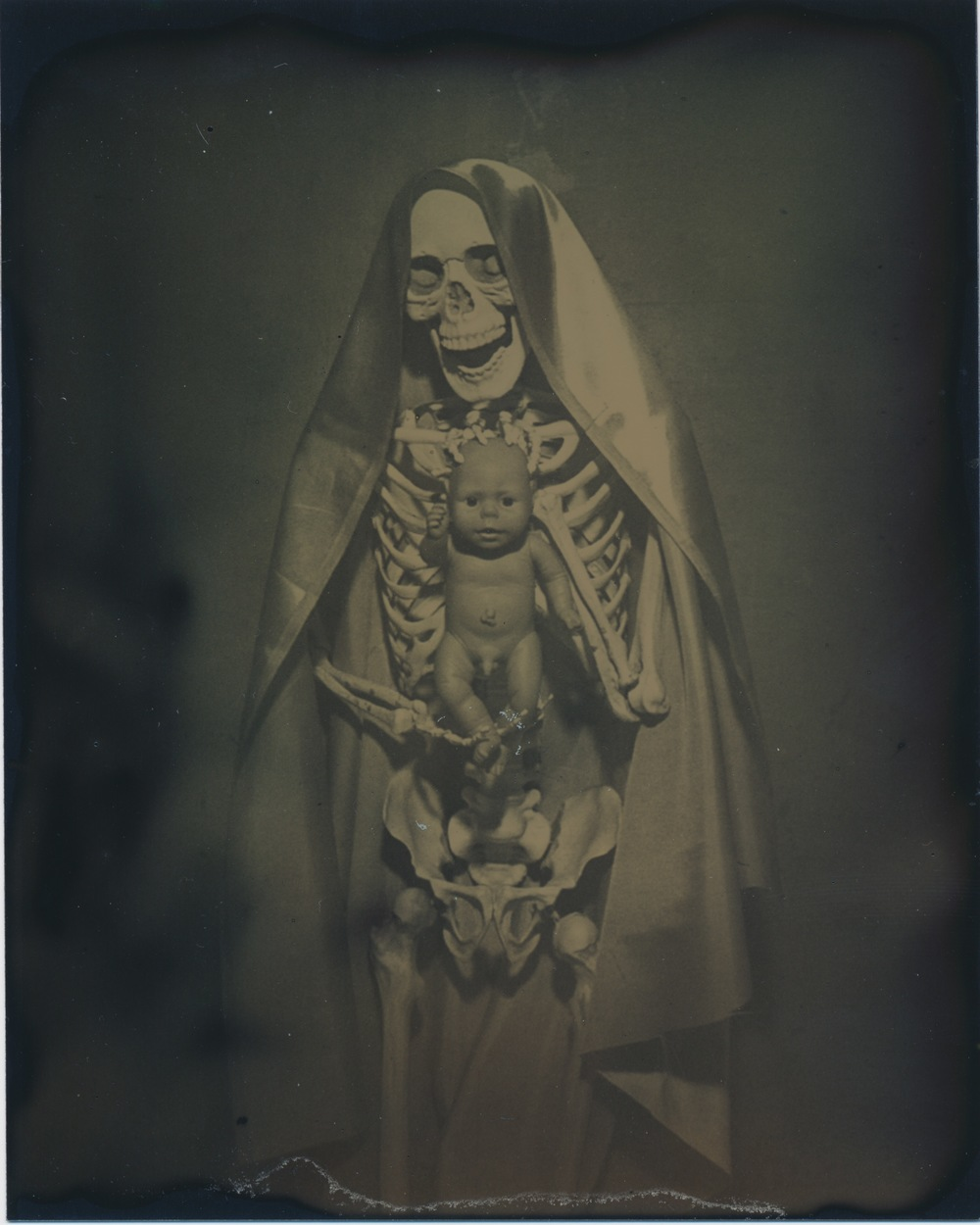 After Madonna and Child   2015  Tintype  4x5