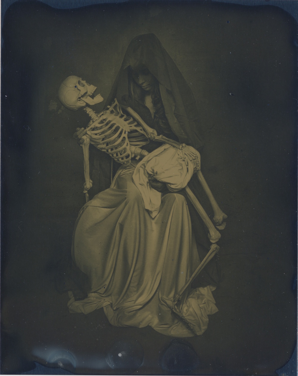 After Pieta    2015  Tintype  4x5