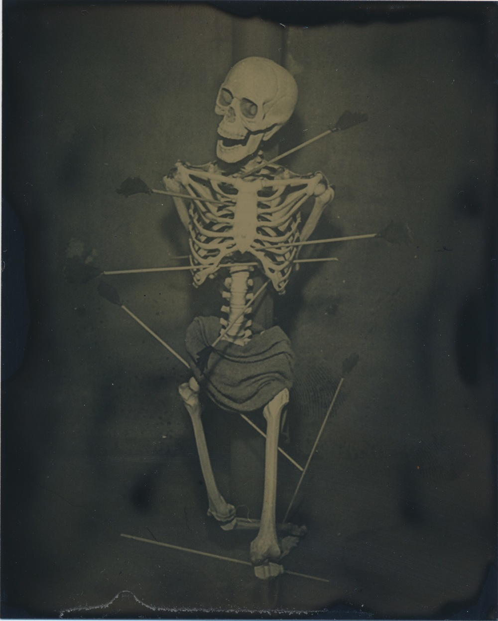 After Saint Sebastian   2015  Tintype  4x5