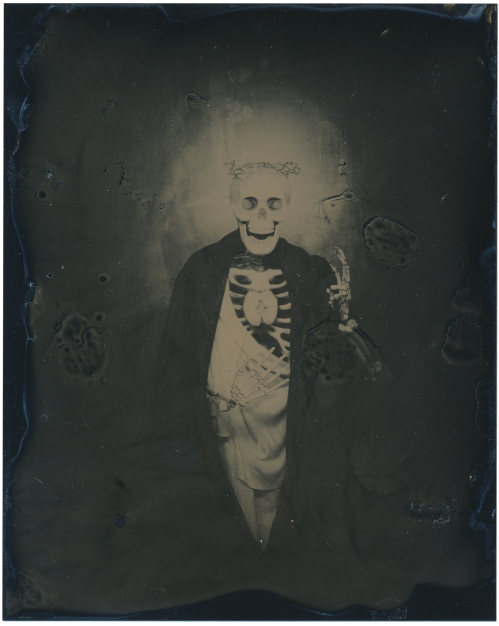 After the Sacred Heart   2015  Tintype  4x5