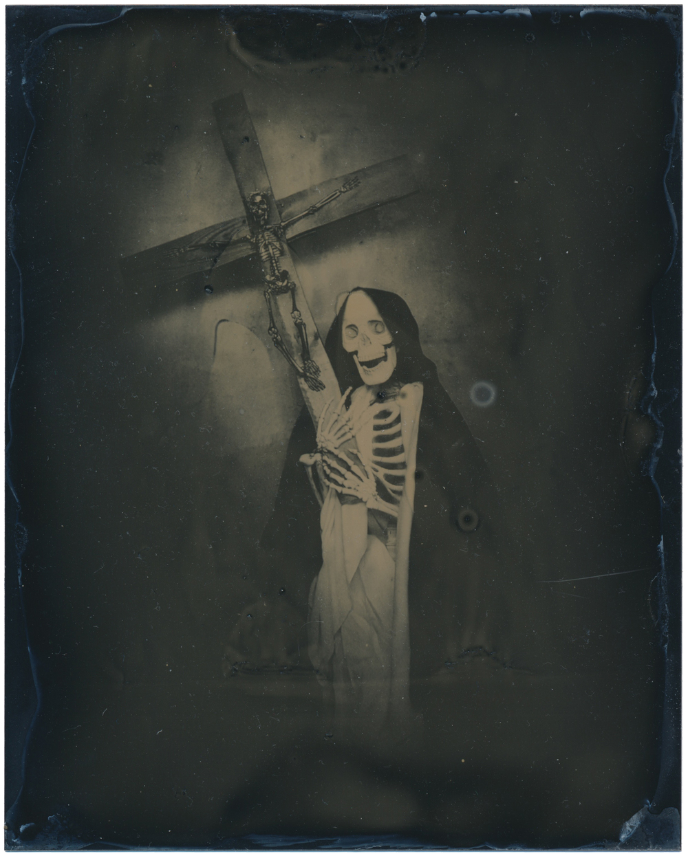 After Saint Claire   2015  Tintype  4x5