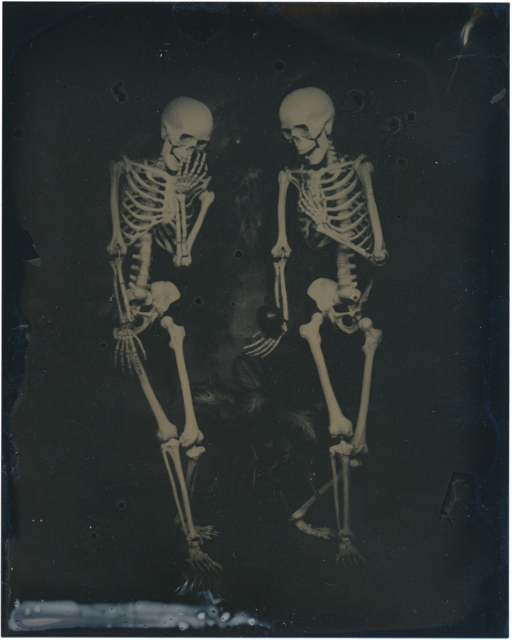 After the Fall of Man   2015  Tintype  4x5