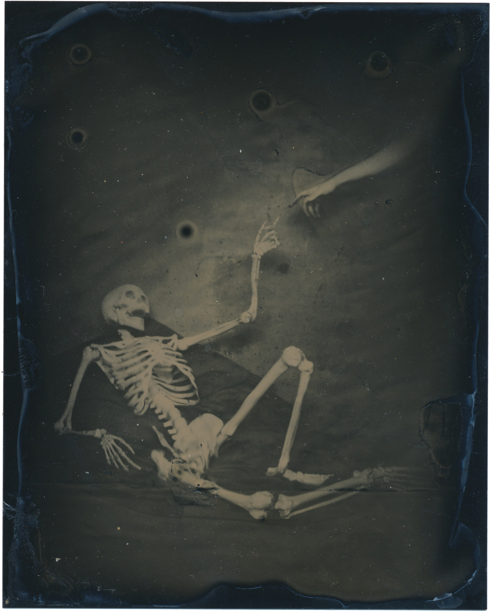 After the Creation of Adam 2015  4x5 tintype