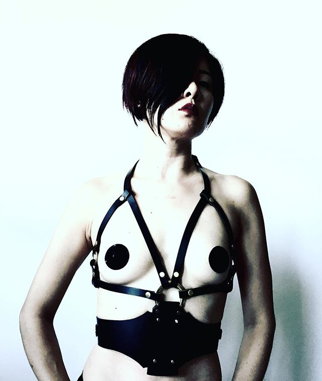 Heel, dog. . . . #leatherharness #dominatrix #domination #mistress #femdom #femalesupremacy #prodomme #bdsm #femmefatale #tease #kink #asiangirl #asianmistress #asiandominatrix #teaseanddenial #fetishfashion #fetishphotography #fetish #女王様 #フェチ #ootd #adore #instafashion #editorial #fashion #fetishphotography #fetishfashion #blackandwhite #blackandwhitephotography