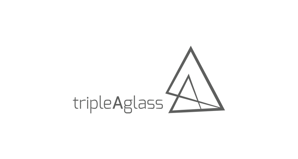 Triple A Glass Logo Design