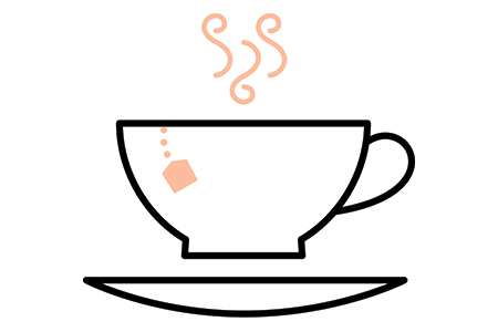 Sarasure tea cup icon