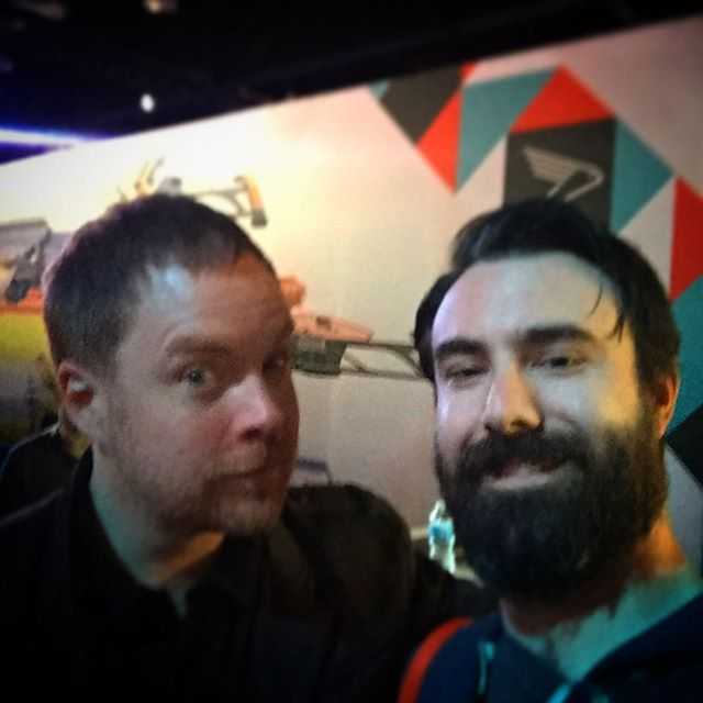 That time I met @deej the community manager for @destinythegame @bungie @bungie_official_destiny @destinygame Love this guy. #playstationexperience2016