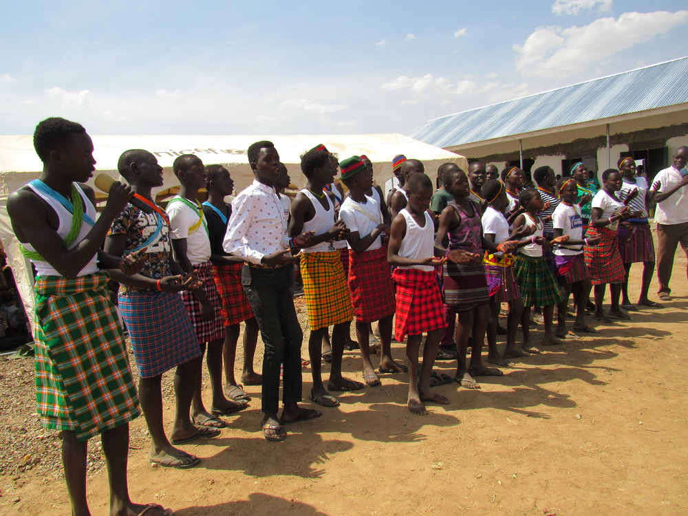 Ezekiel 37 Sponsored Children Singing