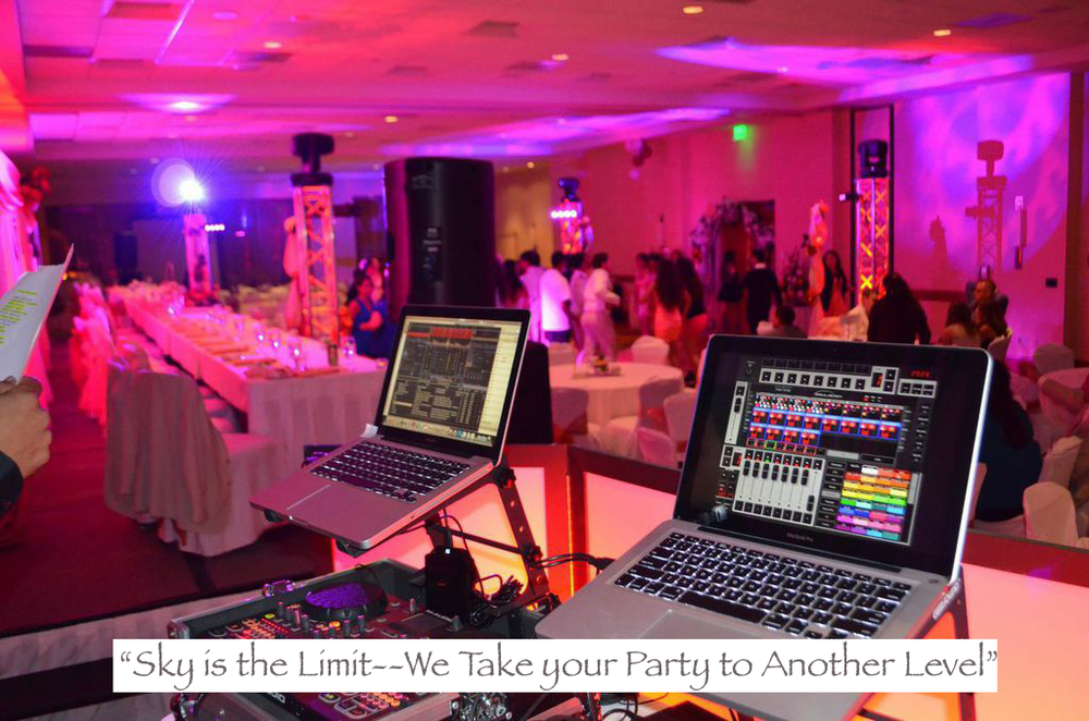 """""""Sky is the Limit--We Take your Party to Another Level """""""