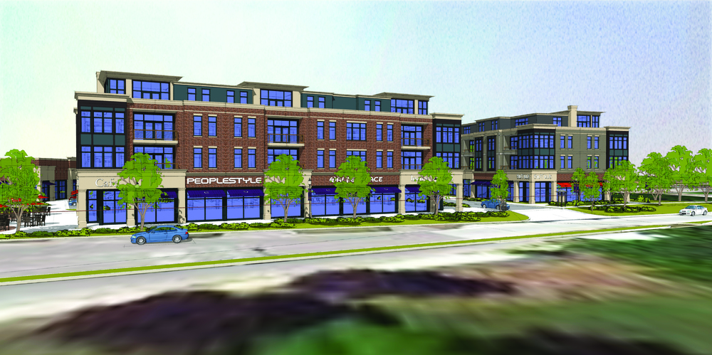 Mequon Town Center (rendering)