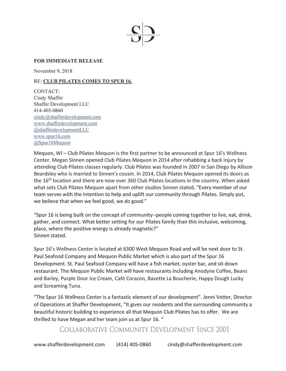 Club Pilates Mequon Spur 16 Press Release_Page_1.jpg